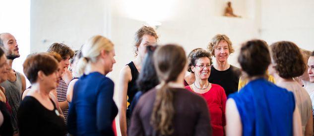 Schnupperkurs beim Tanzfest Basel 2 - Foto Brigitte Fässler